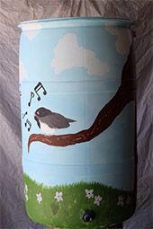 'Chirp About Water Conservation' by Elizabeth Loserro